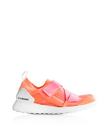 Glow Orange and Hyper Pop Ultraboost X Trainers - Adidas Stella McCartney