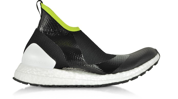 UltraBOOST X ATR44 Black and Lime Women's Sneakers