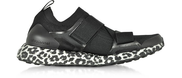 timeless design ae41f b5ee3 UltraBOOST X Black and White Women s Sneakers - Adidas Stella McCartney