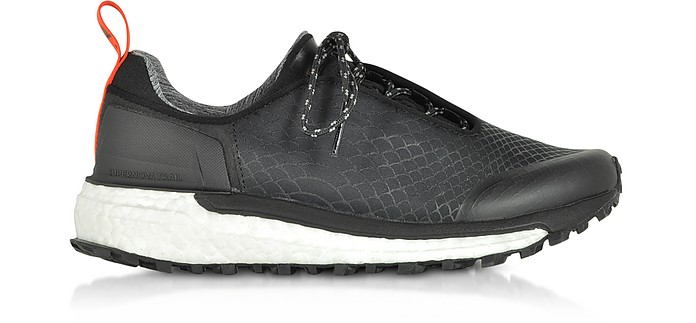 Black Supernova Trail运动鞋 - Adidas Stella McCartney