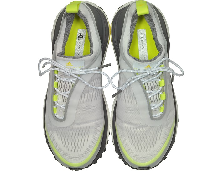 3d3fe93c3 White Solar Yellow Supernova Trail Sneakers - Adidas Stella McCartney. 50%  Off
