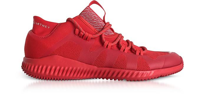 adidas, stella mccartney nucleo rosso crazytrain rimbalzare metà scarpe