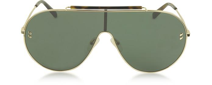 SC0056S Metal Aviator Women's Sunglasses - Stella McCartney