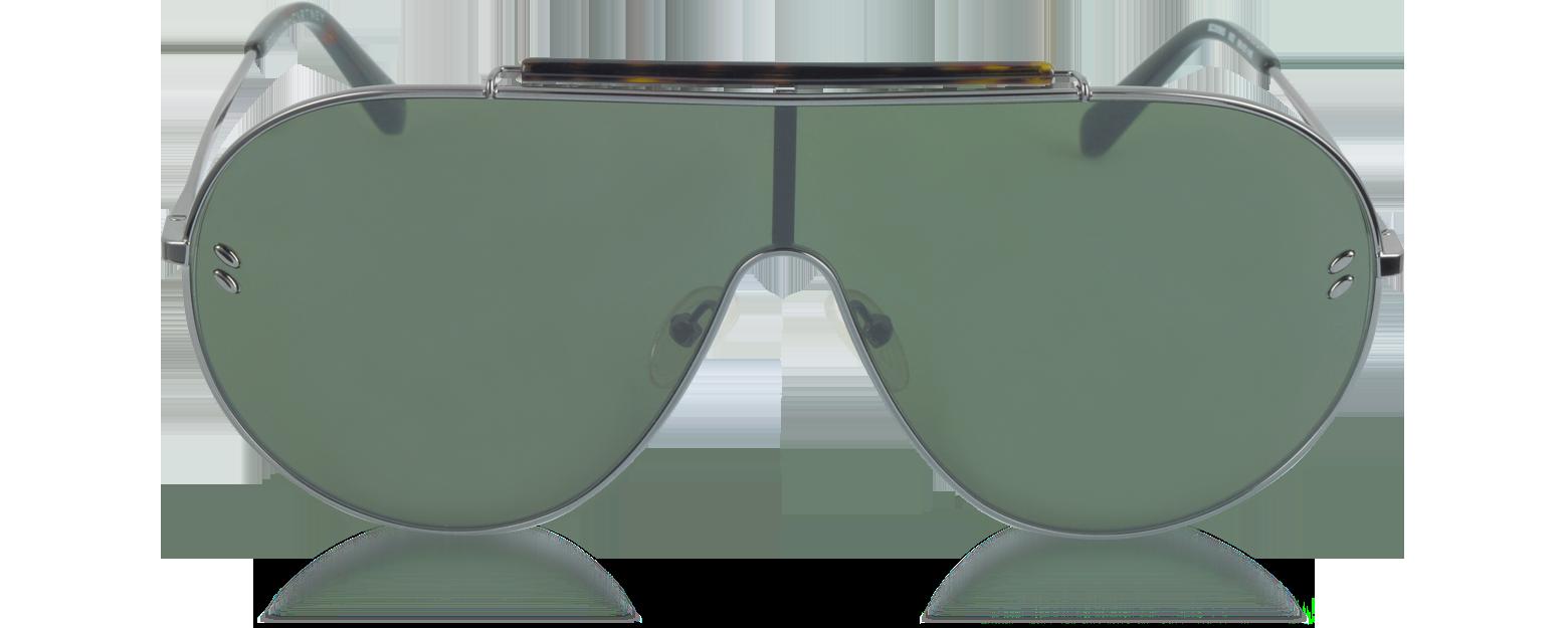 Accesorios - Stella McCartney bronce metalizado / verde SC0056S Gafas de Sol para Hombre de Metal con Montura Estilo Aviador La última tecnología sm470017-002-01 ROPAHRG