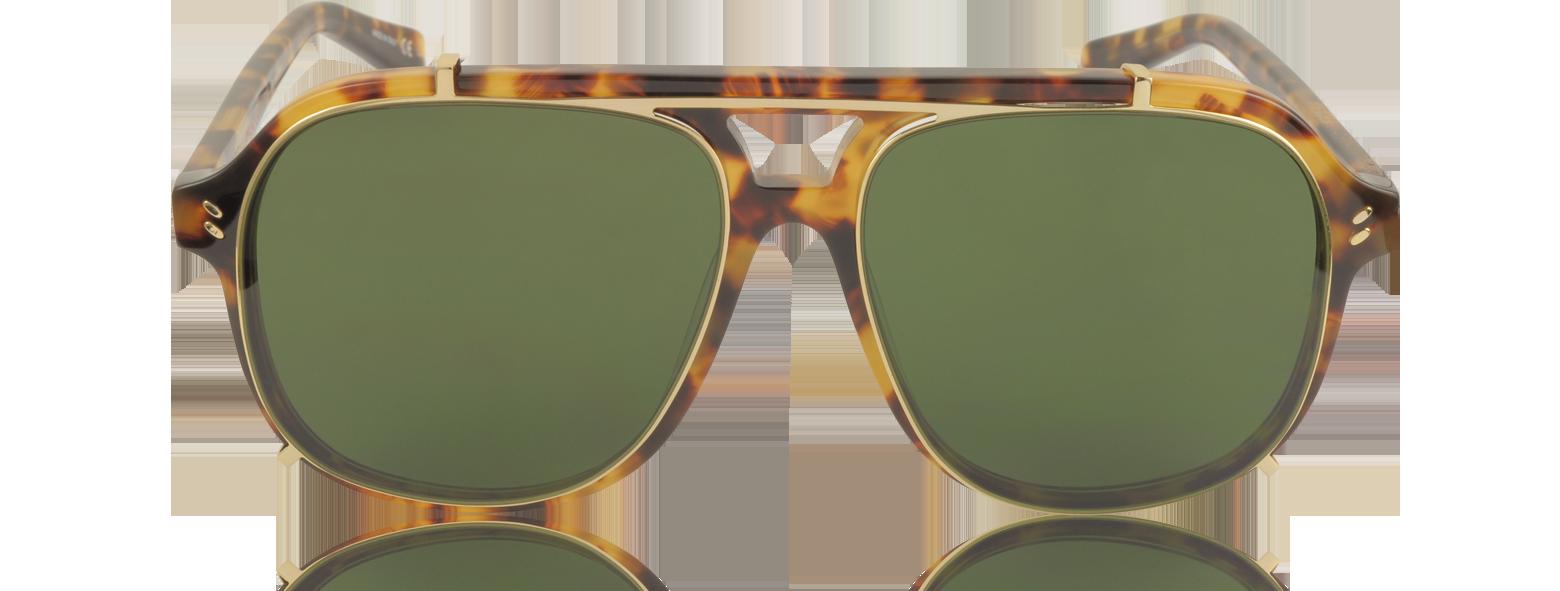 Accesorios - Stella McCartney habana/verde SC0076S Gafas de Sol para Hombre de Acetato con Montura Estilo Aviador Diseño encantador sm470017-007-00 DYXOUXS