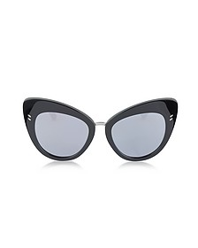SC0037S Acetate Cat Eye Women's Sunglasses - Stella McCartney