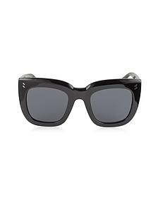 SC0033S Square Cat Eye Acetate Women's Sunglasses - Stella McCartney