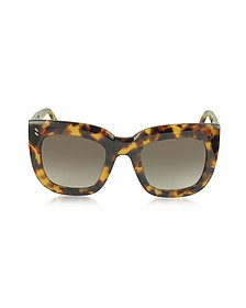 SC0033S Square Cat Eye Acetate Women's Sunglasses - Stella McCartney