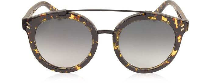 SC0054S Round Aviator Acetate Women's Sunglasses - Stella McCartney