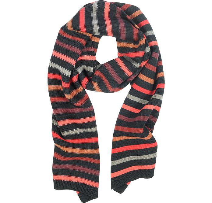 30d01b291a3 Echarpe en laine rayée Sonia Rykiel sur FORZIERI
