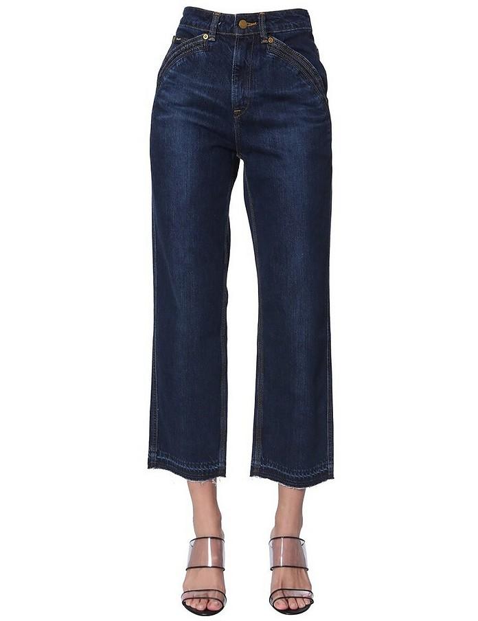 Cropped Jeans - Self-Portrait