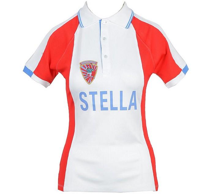 Women's White / Red Shirt - Stella Jean
