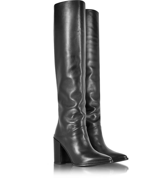 Stuart Weitzman Designer Shoes, Scrunchy Nappa High Heel Boot