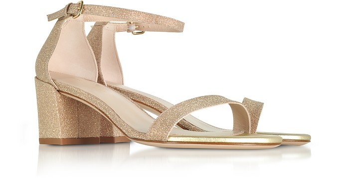 Stuart Weitzman Simple glitter sandals gqrmn7