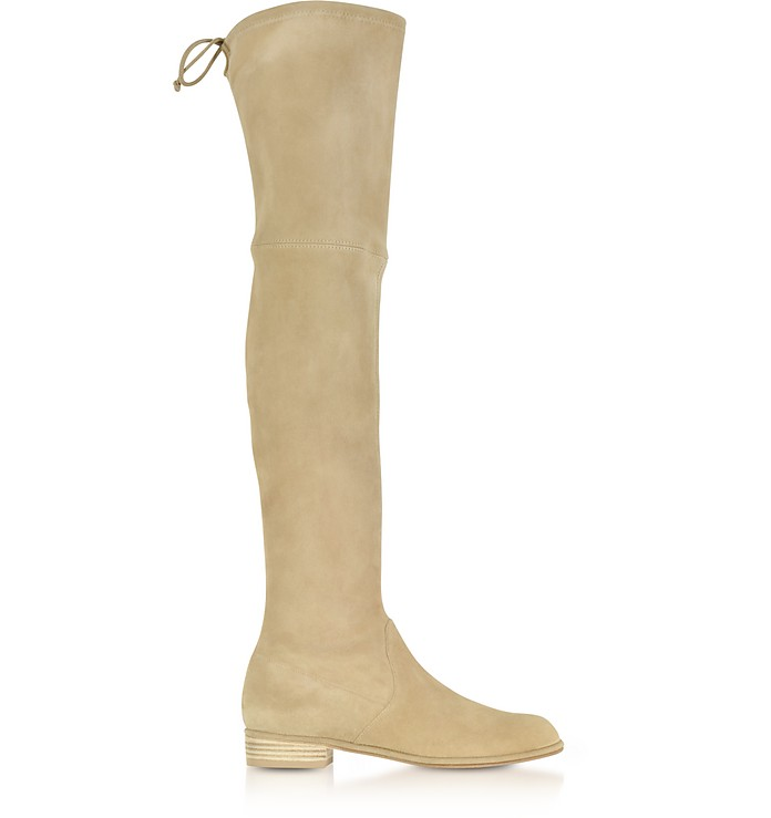 Lealowland Mojave Suede Over The Knee Boots - Stuart Weitzman