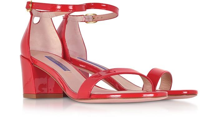 5515d00f81270 Simple Follow Me Red Patent Leather Sandals - Stuart Weitzman. €405,00  Actual transaction amount