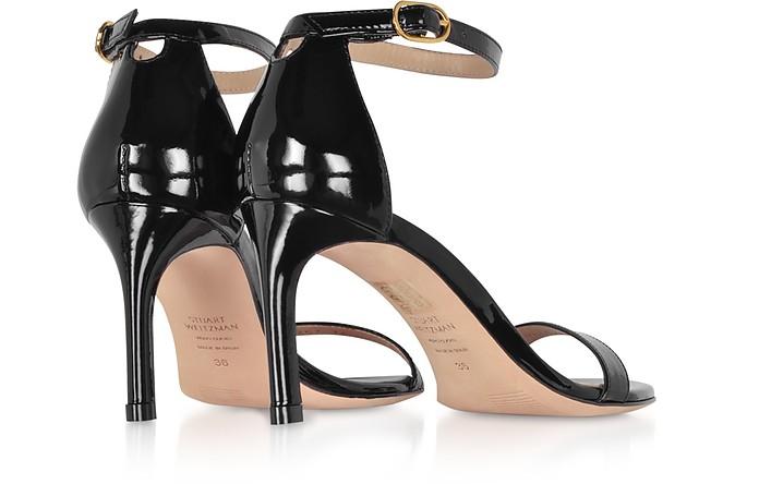 61354718d72d The Nunaked Straight Black Patent Leather Sandals - Stuart Weitzman.   268.50  537.00 Actual transaction amount