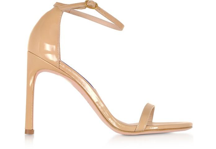 Nudistsong Adobe Patent Leather High Heel Sandals - Stuart Weitzman / スチュアートワイツマン