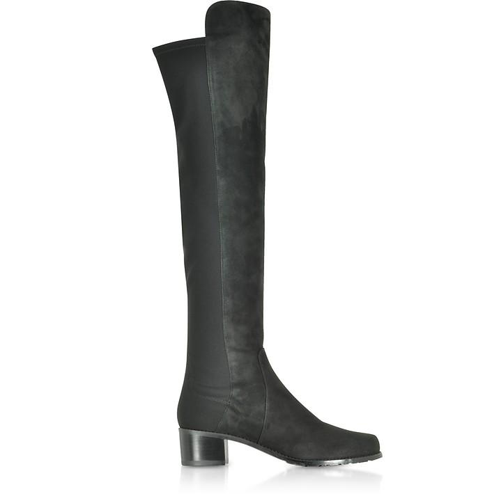 Helena 95 Asphalt Fushion Suede Boots