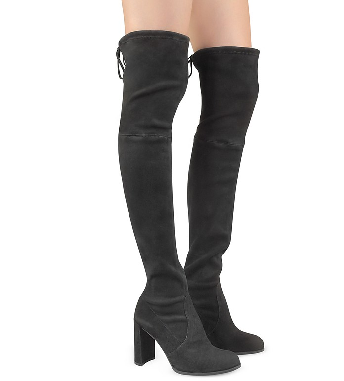 Stuart Weitzman Hiline Suede Over-The-Knee-Boots Finishline For Sale Cheap Sale Pay With Paypal oVCUj8qa