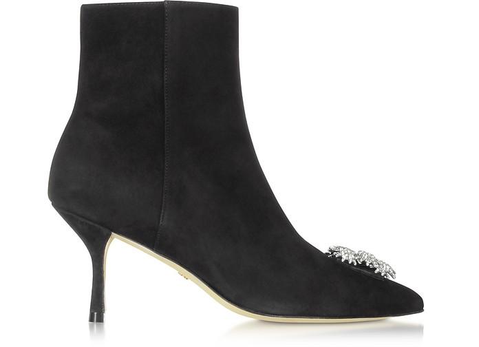 Stuart Weitzman Boots Black Suede Kera Boots