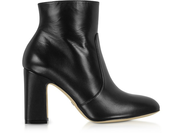 Black Nappa Leather Nell 80 Boots - Stuart Weitzman