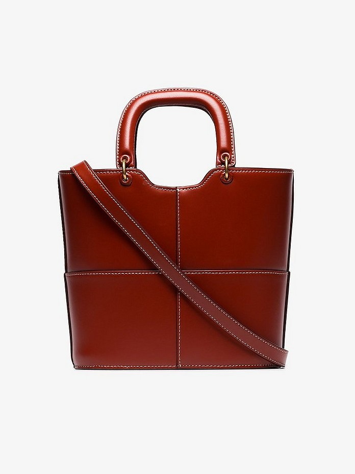 Staud Totes Andy Leather Tote