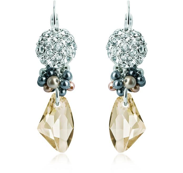Winter Garden Earrings - SWAROVSKI CRYSTALLIZED™