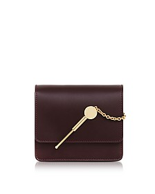 Oxblood Small Cocktail Stirrer Bag - Sophie Hulme