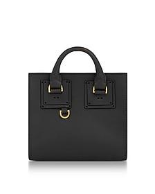 Albion Box Shopper aus Leder in schwarz - Sophie Hulme