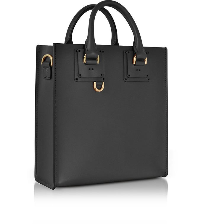 Sophie Hulme Black Albion Square Tote at FORZIERI UK 533687afcd151