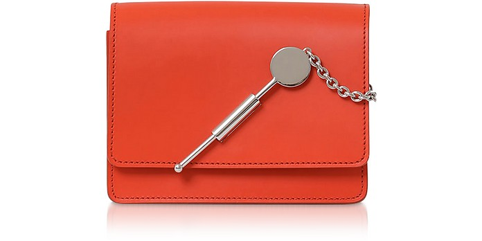 Sophie Hulme Accessories Saddle Leather w/Chain Micro Cocktail Stirrer