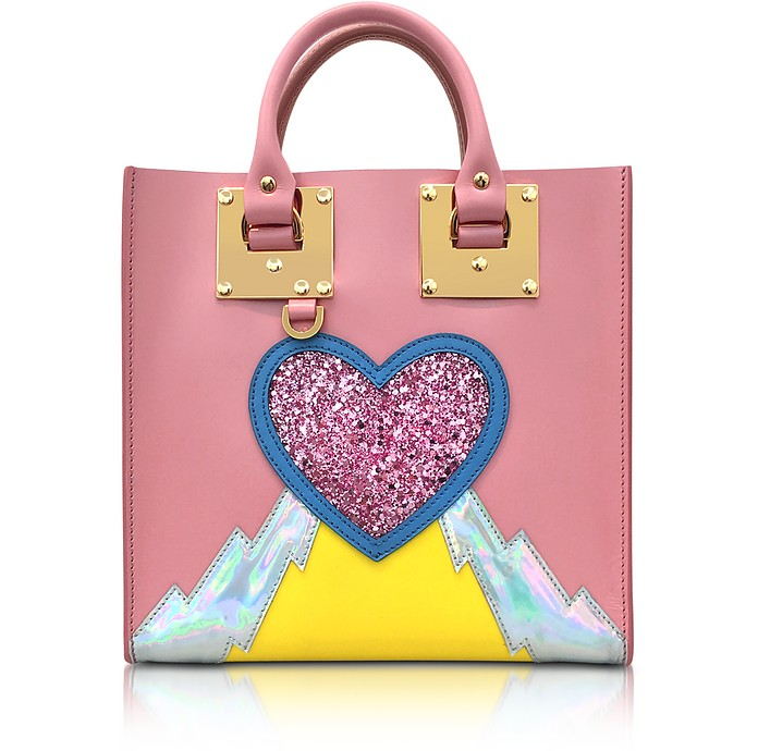 Pink Multi Albion Square Tote - Sophie Hulme