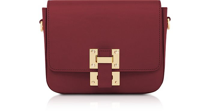 The Quick Small Leather Shoulder Bag - Sophie Hulme