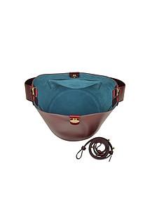 The Swing Leather Bucket Bag - Sophie Hulme
