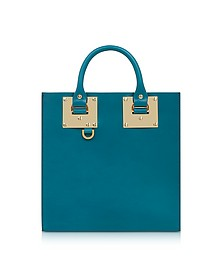 Square Albion Leather Tote Bag - Sophie Hulme