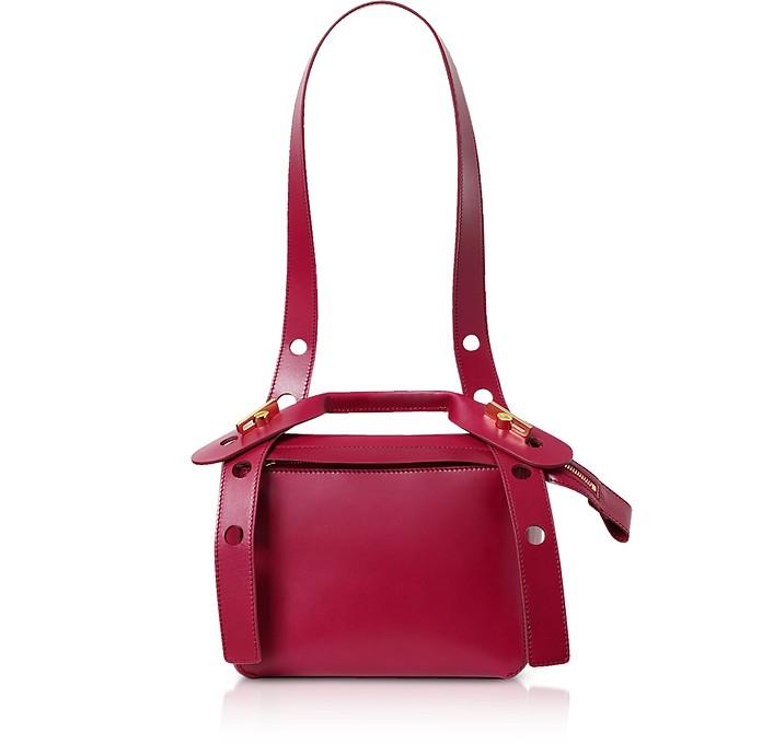Soft Leather Bolt Saddle Bag - Sophie Hulme