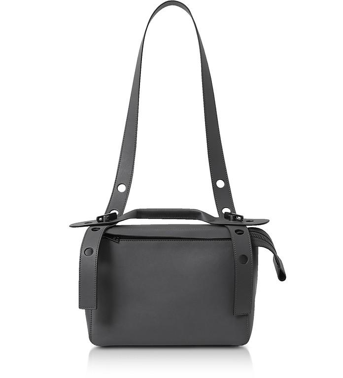 Charcoal The Bold Shoulder Bag - Sophie Hulme
