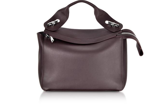 Oxblood Bolt Shoulder Bag - Sophie Hulme