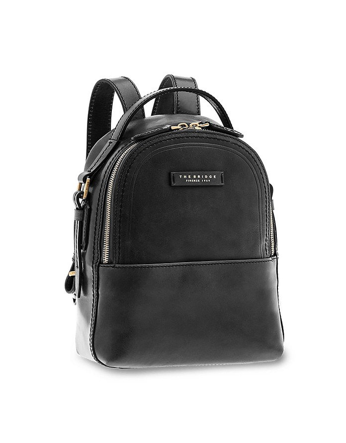 Pearl District Genuine Leather Backpack - The Bridge