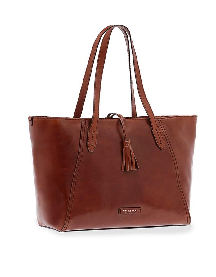 Florentin Genuine Leather Tote Bag - The Bridge