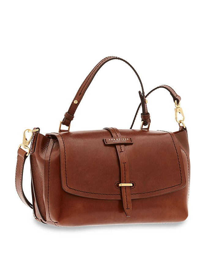 Dalston Genuine Leather Satchel Bag - The Bridge