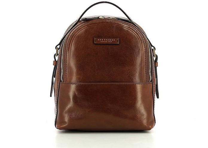 Women's Brown Backpack - The Bridge
