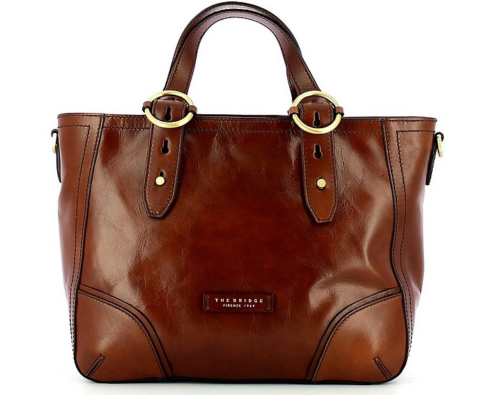 Brown Double Function Tote Bag - The Bridge