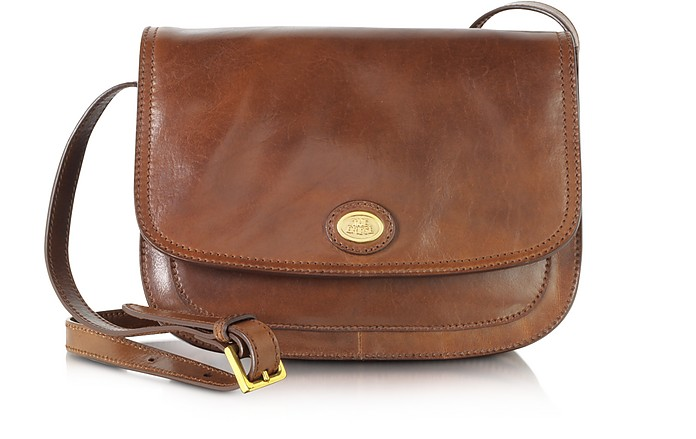 Story Donna Crossbodytasche aus braunem Leder - The Bridge