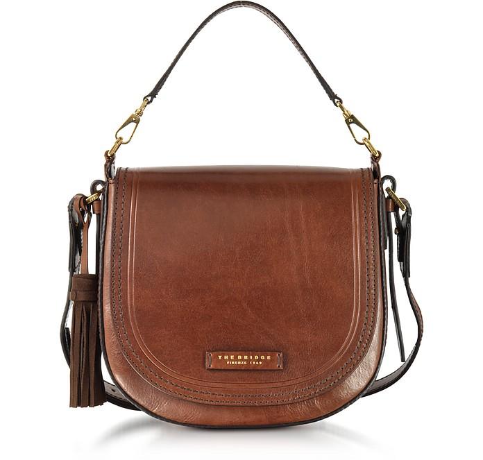 Large Leather Messenger Bag w/Tassels - The Bridge / ザ・ブリッジ