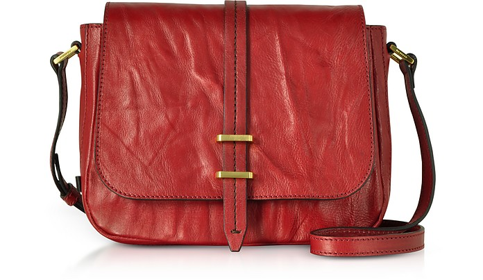Rimbaud Leather Medium Shoulder Bag - The Bridge