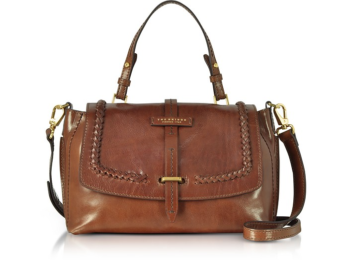 Murakami Leather Medium Satchel Bag The Bridge gUAtM