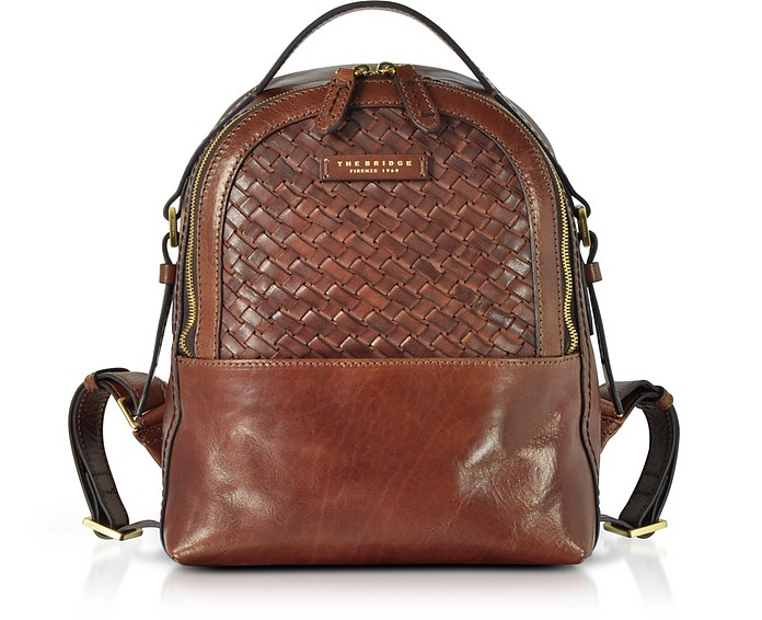 The Woven Backpack Woven Leather Women Salinger Bridge Leather Salinger s g6TwZ8q