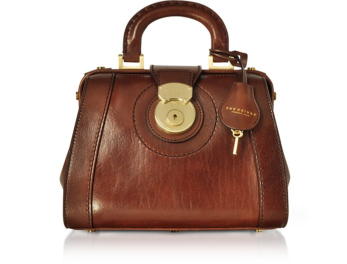 Rufina Small Leather Doctor Bag - The Bridge